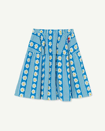 The Animals Observatory Turkey Kids Skirt (White Flowers)