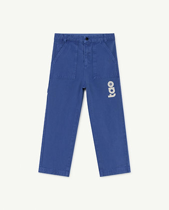The Animals Observatory Condor Kids Trousers (Blue TAO)