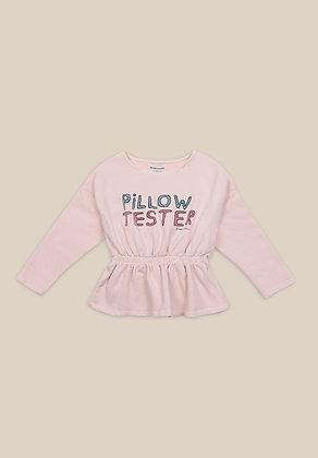 Bobo Choses Pillow Tester Girl Sweatshirt