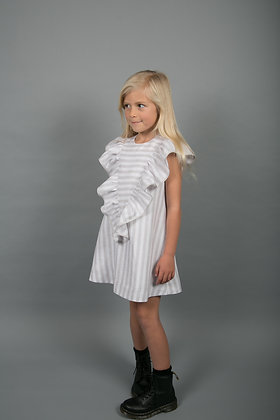 CARBON SOLDIER EAGLE DRESS (GREY/WHITE STRIPE)