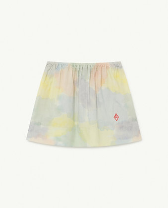 The Animals Observatory Impala Kids Skirt (Multicolor Watercolor)
