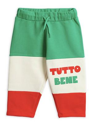 Mini Rodini Tutto Bene Sweatpants (Red)