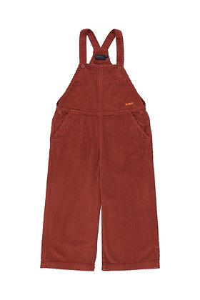 Tiny Cottons Solid Overall (Dark Brown)