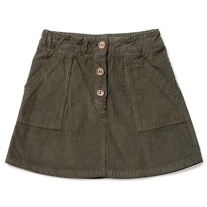 Bonton/Bonbon Corduroy Skirt (Kakhi)