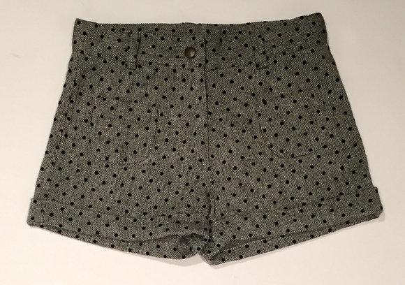 Bonton/Bonbon Heart Short (Black/Grey)