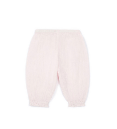 Bonton/Bonbon Crepon Baby Pantalon (Rose)