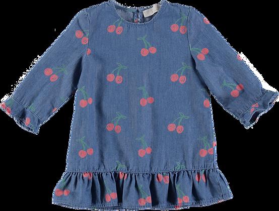 Stella McCartney Cherry Chambray Dress