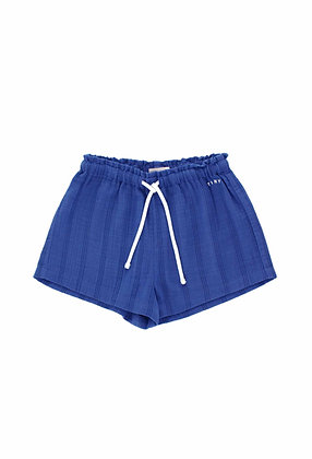 Tiny Cottons Stripes Tiny Short (Iris Blue/Ink Blue)