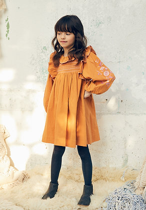 Nellystella Kiki Dress (Saffron)