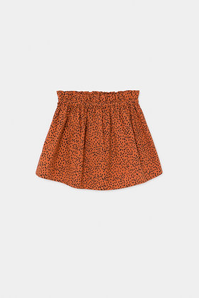 Bobo Choses All Over Leopard Flared Skirt