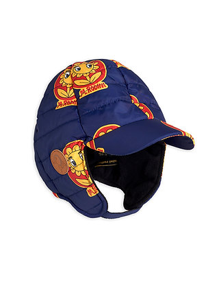 Mini Rodini Insulator Flower Cap (Navy)