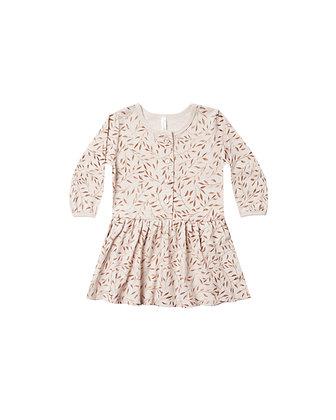 Rylee + Cru Vines Button Up Dress (Wheat)