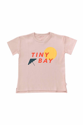 Tiny Cottons Tiny Bay Tee (Dusty Pink/Red)