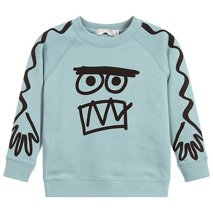 Stella McCartney Boy Face Sweatshirt