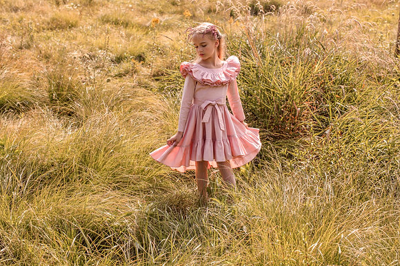 AIRFISH GISELLE DRESS IN PINK