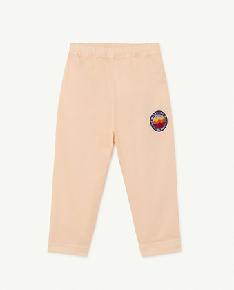 The Animals Observatory Elephant Kids Trousers (Pink Molto)