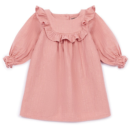 Bonton/Bonbon Baby Dress (Rose Charmant)