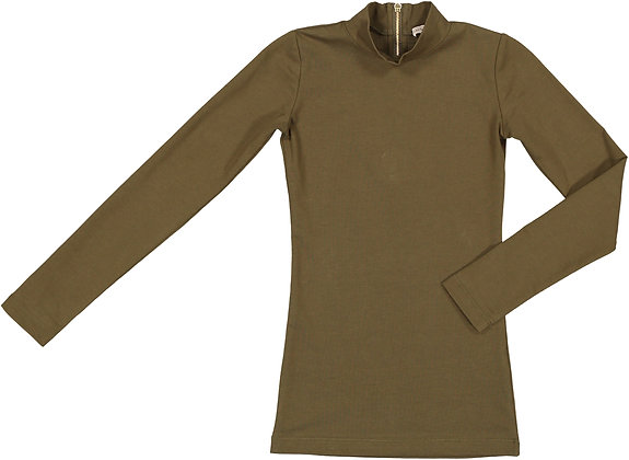 CARBON SOLDIER  THOROUGHBRED TOP (OLIVE)