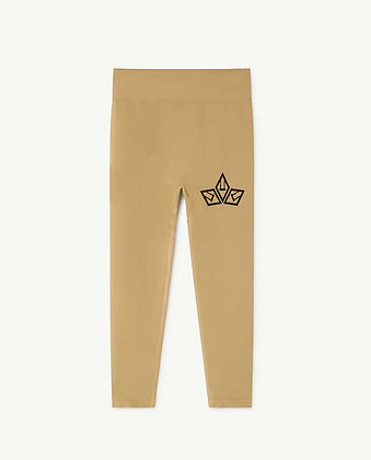 The Animals Observatory Alligator Kids Leggings (Khaki)