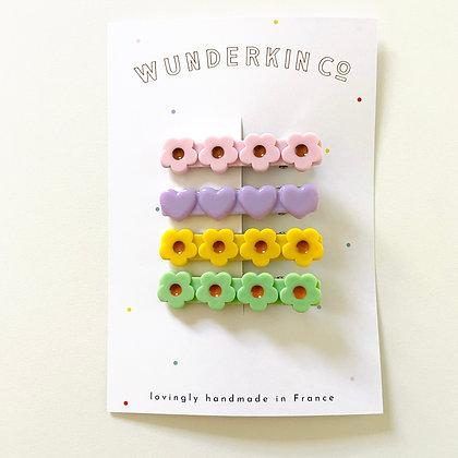 Wunderkin Co. Hair Clip Set 1