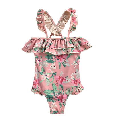 Louise Misha Zacatecas Bathing Suit (Sienna Flamingo)