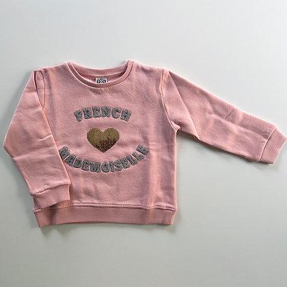 Bonton/Bonbon Sweater (Velvet Pink)