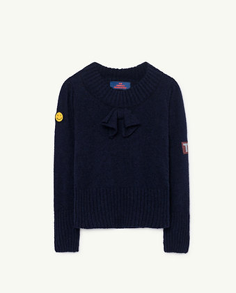 The Animals Observatory Horsefly Kids Sweater (Navy Blue)