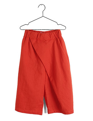 Wolf & Rita Magda Wide Cropped Pants (Red)