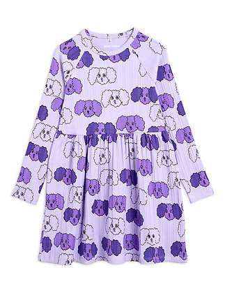 Mini Rodini Fluffy Dog Dress (Purple)