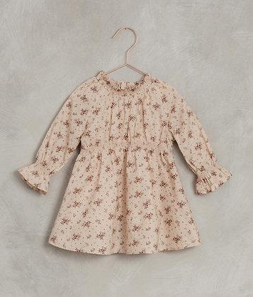 Noralee Geranium Chloe Dress (Light Peach)