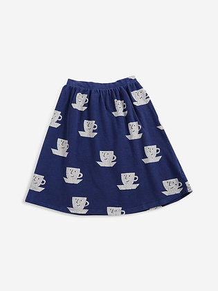 Bobo Choses Cup Of Tea All Over jersey Midi Skirt