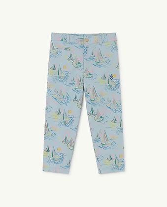 The Animals Observatory Camel Kids Trousers (Soft Blue Boats)