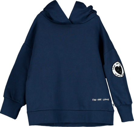 Beau Loves Hooded Sweatshirt (Navy)