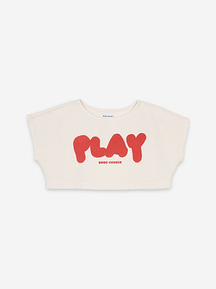 Bobo Choses Play Cropped Sweatshirt