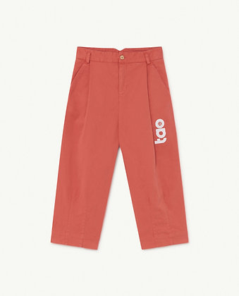 The Animals Observatory EMU Kids Trousers (Red TAO)