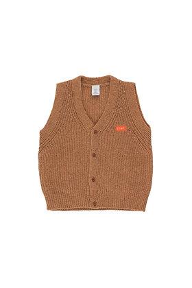 Tiny Cottons 'Tiny' Vest (Brown)