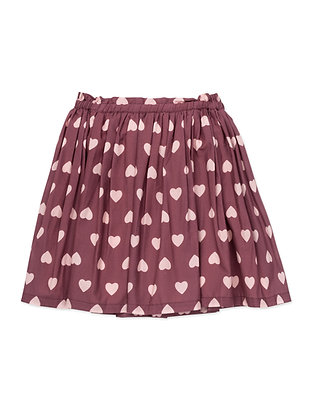 Bonton/Bonbon Heart Skirt (Imp Prune)