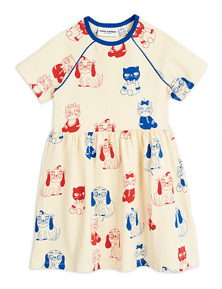 Mini Rodini Minibaby Dress (Offwhite)