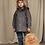 Thumbnail: Mini Rodini Faux Fur Backpack (Beige)