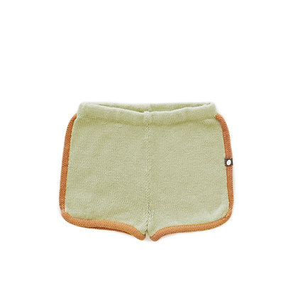 Oeuf 70's Shorts (Pale Green)