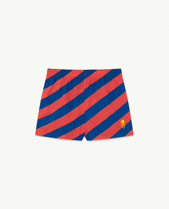 The Animals Observatory Pelican Kids Trousers (Red Stripes)