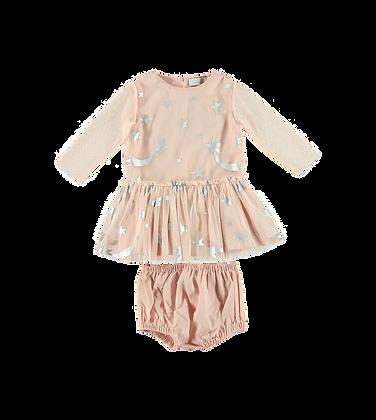 Stella McCartney Baby Girl Start Tulle Dress (Pink)