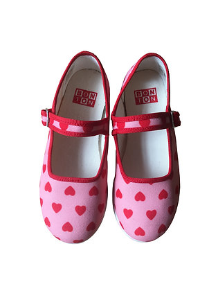 Bonton/Bonbon Heart Slippers (Imp Mini Coeur)