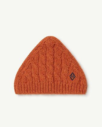 The Animals Observatory Braids Pony Kids Hat (Orange Logo)