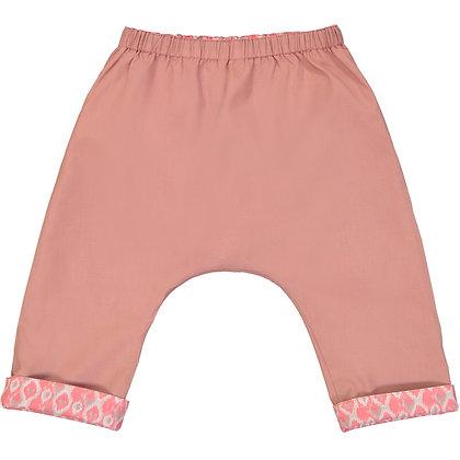 PETITE LUCETTE AXEL REVERSIBLE PANTS (TERRACOTTA PINK)