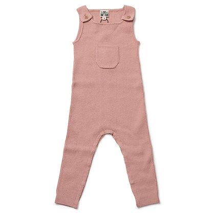 Bonton/Bonbon Baby Jumpsuit (Velvet Pink)