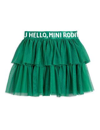 Mini Rodini Tulle Skirt (Green)
