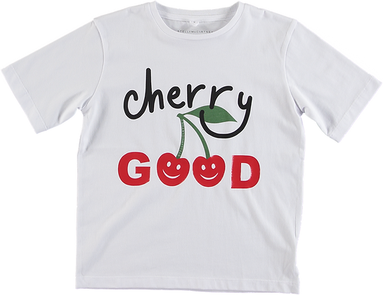 Stella McCartney Cherry Good Short Sleeve Tee