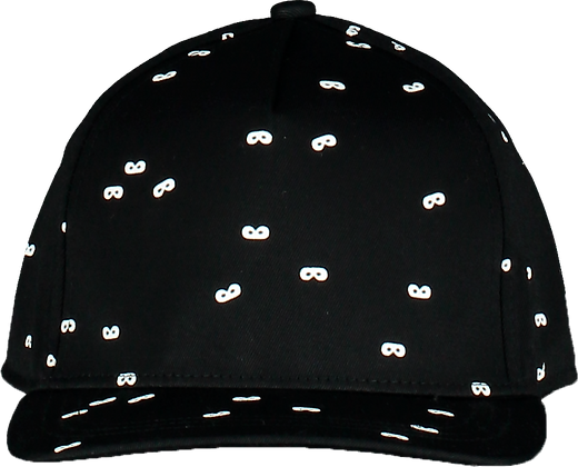 Beau Loves Mini Masks Cap (Black)