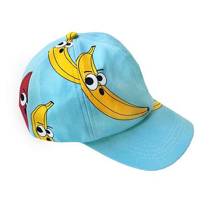 Hugo Loves Tiki Ball Cap - Blue Banana